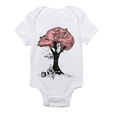 The War On Drugs Pink Tree Onesie