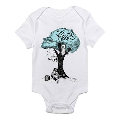 The War On Drugs Teal Tree Onesie