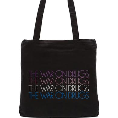 The War On Drugs Repeating Tote (Black)