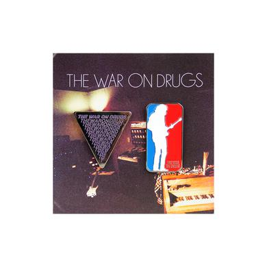The War On Drugs Enamel Pin Set