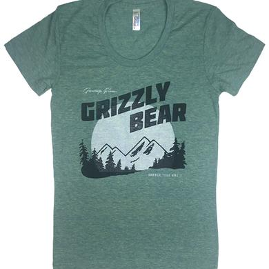 Grizzly Bear Greeting Women's Tee
