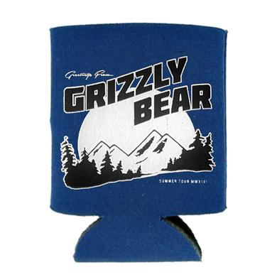 Grizzly Bear Greetings From Koozie