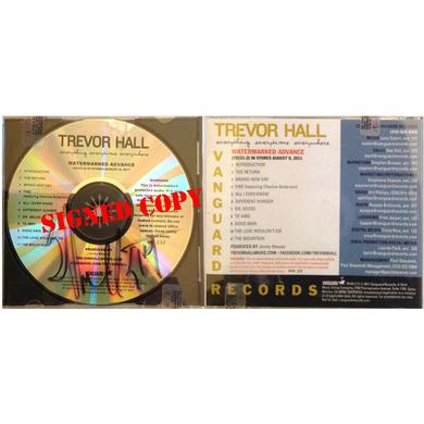 Trevor Hall Everything, Everytime, Everywhere - Watermark CD (Signed)