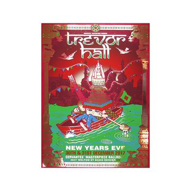 Trevor Hall Limited Edition New Years Eve Poster