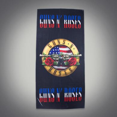 Guns N' Roses Stars And Stripes Beach Towel