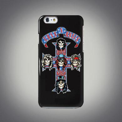 Guns N' Roses Red White & Blue Cross iPhone Case