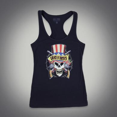 Guns N' Roses Uncle Sam Skull Racerback Tank