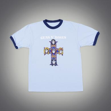 Guns N' Roses AFD Blue Ringer T-Shirt