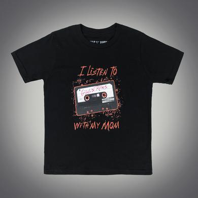 Guns N' Roses I Listen to GnR with My Mom Cassette T-Shirt