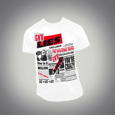 1989 Guns N' Roses Lies Album Tee