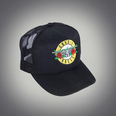 Guns N' Roses Bullet Black Trucker Hat