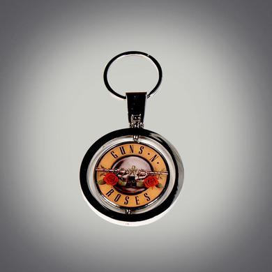 Guns N' Roses Neon Bullet Spinner Keychain