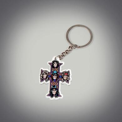 Guns N' Roses Cross Acrylic Keychain