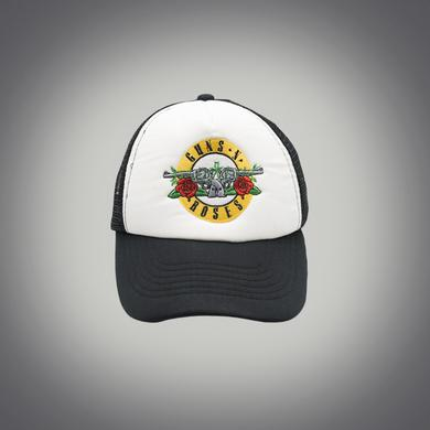 Guns N' Roses Bullet White Trucker Hat