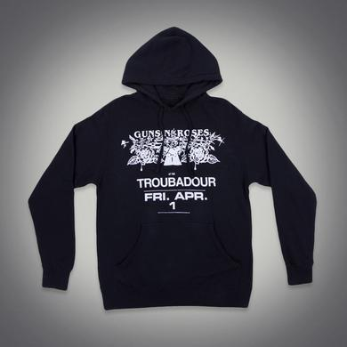 Guns N' Roses Troubadour Pistol Flyer Event Hoodie