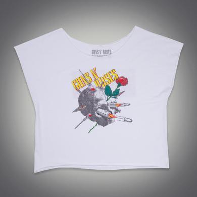 Guns N' Roses 1988 Needle Skull Dolman Shirt