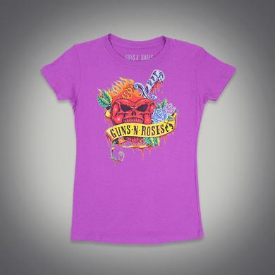 Guns N' Roses Dagger Heart Women's Shirt