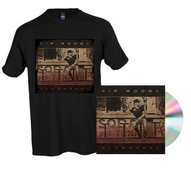 Kip Moore SLOWHEART - CD + T-Shirt + Enhanced Album Experience