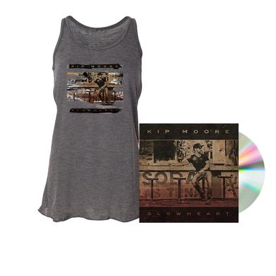 Kip Moore SLOWHEART - CD + Tank Top + Enhanced Album Experience