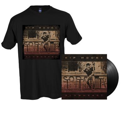 Kip Moore SLOWHEART - Vinyl LP + T-Shirt + Enhanced Album Experience