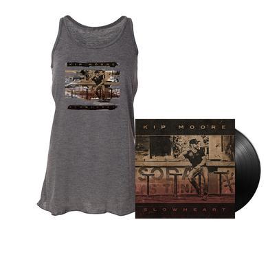 Kip Moore SLOWHEART - Vinyl LP + Tank Top + Enhanced Album Experience