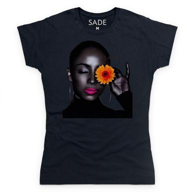 Sade Black Bloom T-Shirt
