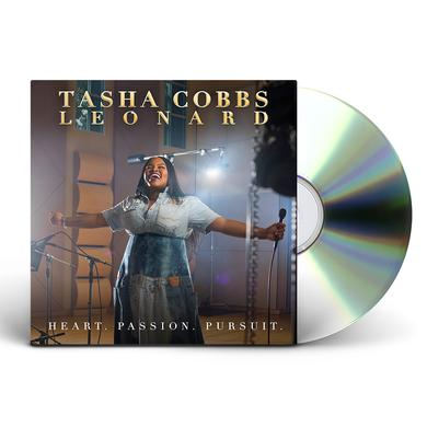Tasha Cobbs Heart. Passion. Pursuit. Standard CD