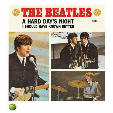 The Beatles A Hard Days Night - Singles Lithograph Collection