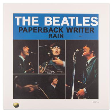 The Beatles Paperback Writer Lithograph Collection