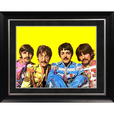 The Beatles 'Sgt. Pepper Lonely Hearts Costumes' 11x14 Framed Photo