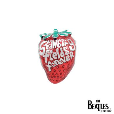 The Beatles 925 Sterling Silver Strawberry Fields Forever Bead