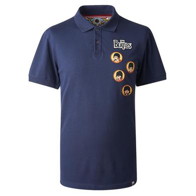 The Beatles Get Back Navy Polo