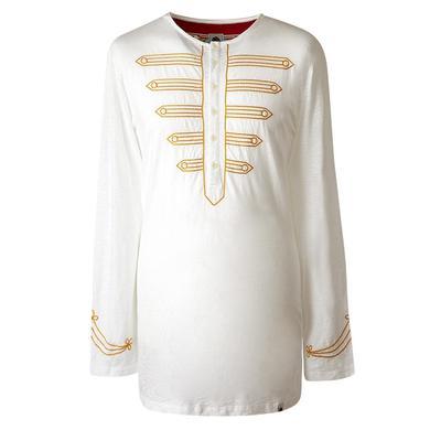 The Beatles Mr. Kite White Grandad Longsleeve Shirt