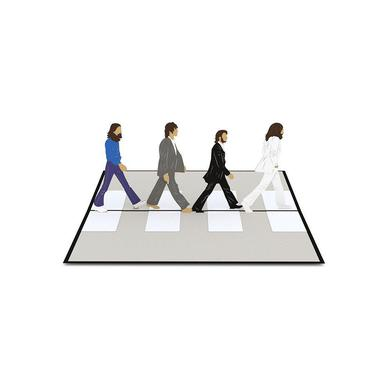 The Beatles Abbey Road Love Pop Card