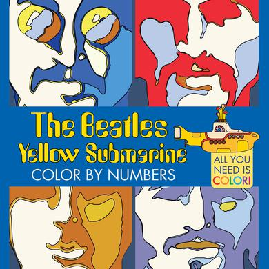 The Beatles Yellow Submarine: Color By Numbers