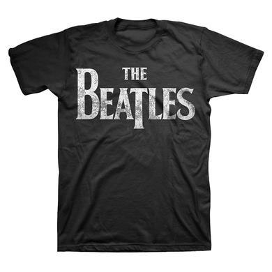 The Beatles Distressed Logo T-Shirt
