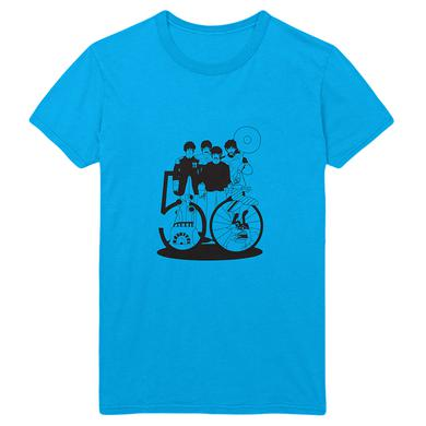 The Beatles Yellow Submarine 50th Anniversary Turquoise T-Shirt