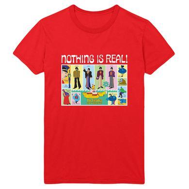 The Beatles Yellow Submarine 50th Anniversary Red T-Shirt