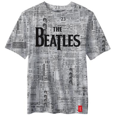 The Beatles Ticket Stub Logo T-Shirt