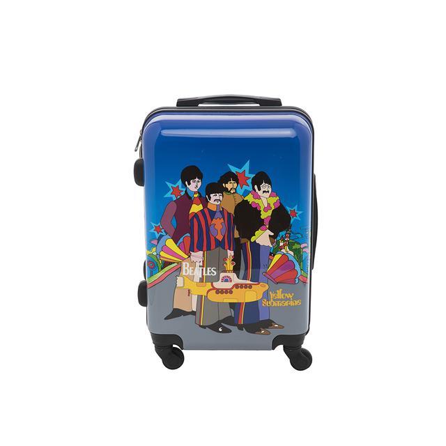 """The Beatles Yellow Submarine 21"""" Hardcase Spinner Luggage"""