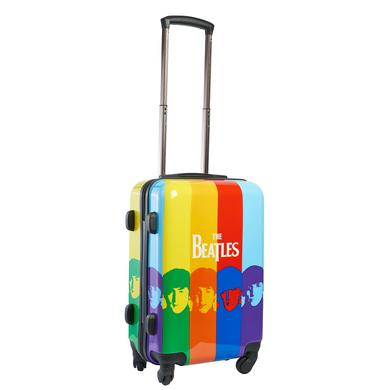 "The Beatles Color Stripe 21"" Printed Hardcase Spinner Luggage"