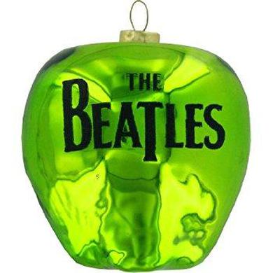 Apple with Beatles Logo Ornament