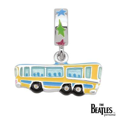 The Beatles 925 Sterling Silver Magical Mystery Bus Dangle