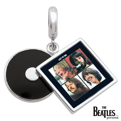 The Beatles 925 Sterling Silver Let It Be Cover Dangle