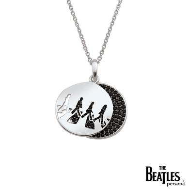 The Beatles 925 Sterling Silver Abbey Road CZ Necklace