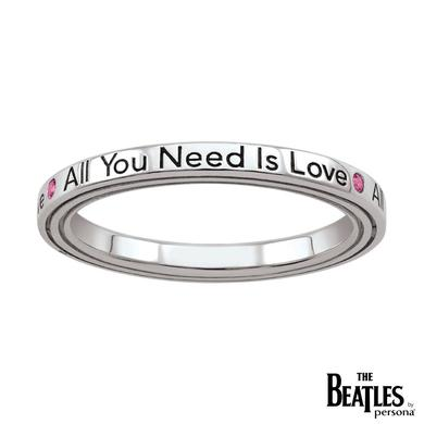 The Beatles 925 Sterling Silver All You Need Is Love Ring