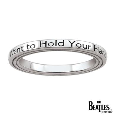 The Beatles 925 Sterling Silver I Want To Hold Your Hand Ring