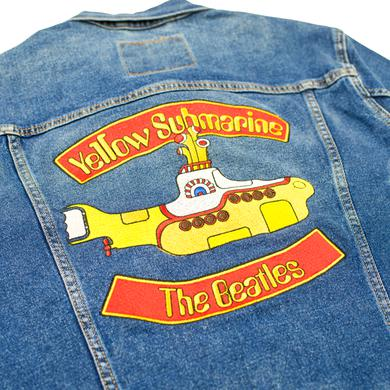 The Beatles Yellow Submarine Levi's Denim Jacket