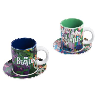 The Beatles Yellow Submarine 4 pc. Cup and Saucer Set