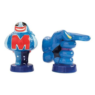 The Beatles Blue Meanie Ceramic Salt & Pepper Shaker Set